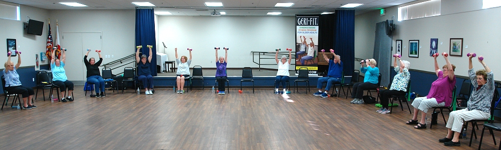 Geri-Fit strength training workout for older adults